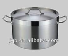 Corto ollas de cocina de acero inoxidable 304 con 1.2mm espesor y bajo precio