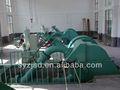 hidro turbina y el generador establecidos para la planta de energía hidráulica