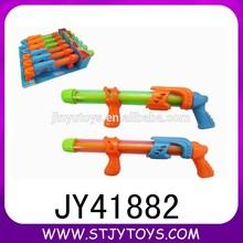 clásico colorido juguete retro acción de la bomba de agua pistola blaster