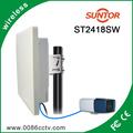 3km de segurança cctv sistema de áudio do receptor transmissor de vídeo sem fio
