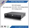 híbrido analógico sistema de cámara ahd 720p dvr de grabación en tiempo real