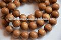 Rosario budista, cuentas de madera de sándalo, de madera de sándalo granos del rosario