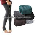Cómodo algodón de las mujeres Medias Pantalones Warm Winter Leggings Estribo 3399#