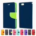 Mercury smartphone accesorios de cuero caso cubrir para iPhone 6 plus teléfono