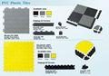 熱販売PVC ガレージタイル
