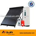 dividir y presión del agua de calefacción solar
