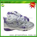 arriva nuevo diseño de la flor niños zapatos del deporte con luz led