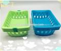 100% virgen pp cesta de plástico, diversos cesta de plástico, de plástico nueva canasta de alimentos