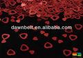 corazón de la boda mesa de confeti