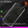 Melhor popular caixa do telefone móvel para lg l90, crytal capa para celular lg d410 caso rígido do pc