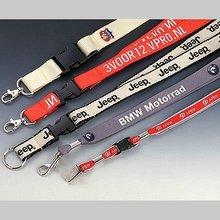 Albb- 0007 logotipo personalizado de cordones cordón de poliéster
