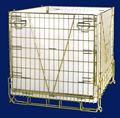 Cage du magasin galvanisée