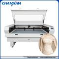 Suzhou baratos de la fábrica! 2 cabezas del laser ropa de corte por láser de la máquina de skype: szchanxan