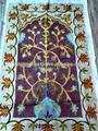 El diseño islámico musulmán alfombra de oración, janamaz, musalla