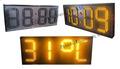 las ventas caliente amarillo 12v 7 grandes segmentos led display digital temporizador