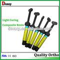 Dental fabricante de luz de curado de la resina compuesto/dental compuesto de resina