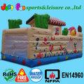 barco criança ao ar livre da cidade inflável diversão para venda