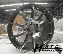 Nuevo! 2014 nuevo diseño negro/cromo amg réplica del coche de aluminio llanta de la rueda