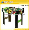 2014 nueva de madera mesa de fútbol de fútbol de los juegos de mesa