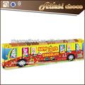 barra de chocolate de pascua en autobús