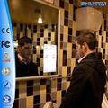 atacado chuveiro espelho impermeável tv na parede para o banheiro