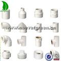 de alta presión de pvc accesorios de tubería