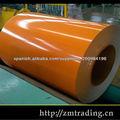 bobinas de acero galvanizado