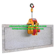 Granito de mármol de la losa de piedra arturo levantador de equipos de elevación- parte- abaco