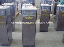 Scellée, plaques tubulaires opzs batterie 2v300ah/télécoms./solaire./batterie de l'onduleur