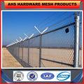 anhesheng iso9001 31 años de fábrica de plástico valla balcón cerca temporal cerca del hierro