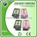 Cantidad de suministro de cartuchos de tinta remanufacturados para HP 60 60XL 122XL 122, para Canon PG-210 CL-211 PG-40 CL-41.