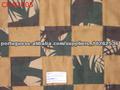 Retalhos de tecido camuflado caça