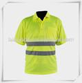 Hola visibilidad del trabajo de los hombres camisas de polo/hi vis de ropa de trabajo