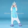 encantador de dos colores para adultosimpreso pijama de unicornio