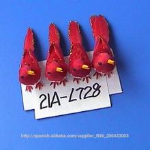 vacaciones hechas a mano artificiales pájaros lindos