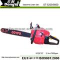 Caliente- la venta de gasolina 58cc 5200 motosierra/sierra cadena cadena de la sierra parte