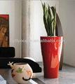 Tall modern cônicos de fibra de vidro plantador de maconha fo-286