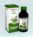 A base de hierbas jarabe para la tos con tulsi- tulcof jarabe