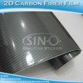 1.52*30m 2d de fibra de carbono precio/de fibra de carbono del coche papel de envolver