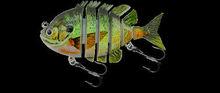 3 Pulgadas pesca lure articulado muy verdadera natación payapl acción aceptado