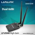 LAFALINK LF-D300 tarjeta de red inalámbrica para PC de escritorio, Ralink 802.11 n tarjeta LAN inalámbrica, adaptador wifi