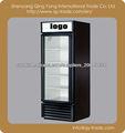 Commercial Single Glass Door Display refrigerador y bebidas Showcase Congelador Botella del refrigerador