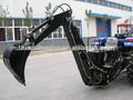 hidráulico 3 punto de enganche de retroexcavadora remolcable para el tractor
