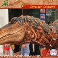 Dnosaurio mecánico hecho en el constructor de dinosaurio Kawah China