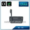 Cámara digital de la batería agarre BG-E6 para canon 5d mark ii