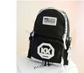 moda unisex mochila mochila de nylon nombró marca comercio justo mochila lindo mochila con cordón