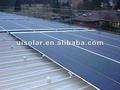 Estructura de soporte de panel solar para tejados inclinados