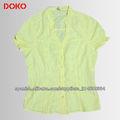 Ladies blouse short sleeves