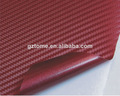 colorido 3d vinilo fibra de carbono etiqueta con burbuja de aire libre