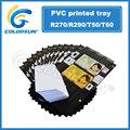 de pvc de inyección de tinta de impresión de tarjetas